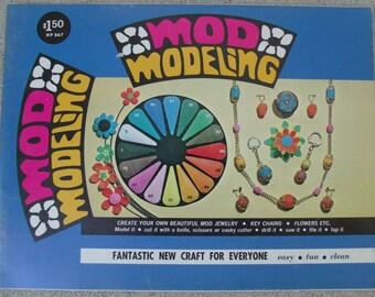 Vintage Craft Book, Mod Modeling, Unused