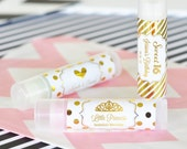 Bachelorette Party Favors, Personalized Wedding Party Lip Balm, Birthday Party Favors, Spa Party,  Set of 24