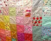 I Spy Patchwork Quilt for Girls