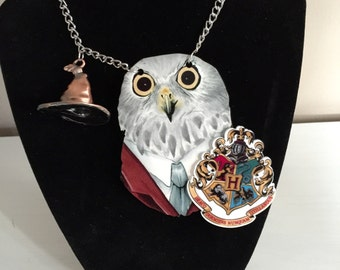 Hedwig Harry Potter Necklace