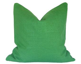 Kelly Green Throw Pillow : Kelly green pillows Etsy