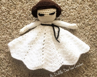 Princess Leia Crocheted Lovey