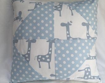 SALE Throw Pillow, Accent Pillow, Decorative Pillow, Nursery Pillow, Pillow Cover, Home Gift, Giraffe Pillow, Modern Pillow, Pillow