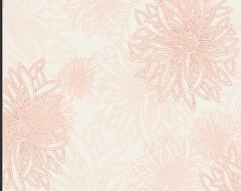 Floral Elements by Art Galley Fabrics, Ballerina, E518