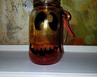 Halloween mason Jar Lantern