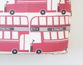 Changing Pad Cover in Double Decker Bus