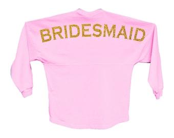 Custom Boyfriend Jersey - Bridesmaid // Bride // Wedding Party - Choose Your Colors