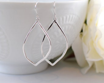 The Jolie Earrings - Silver