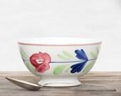 Antique Belgium Footed Bowl by Imperial Et Royale NIMY - Antique Cafe Au Lait Bowl - Antique Belgium Ceramic Bowl