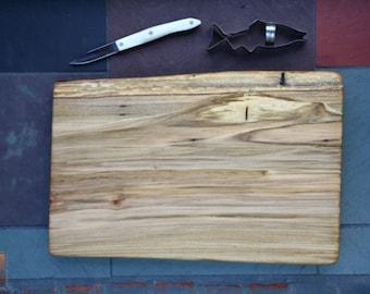 Wood Cutting Board- Chocolate Ambrosia Maple Slab - Unique 5th Anniversary Gift , Unique Wedding Gift 719