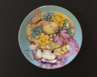 Vintage Easter Plate