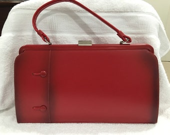 Beautiful red vintage purse