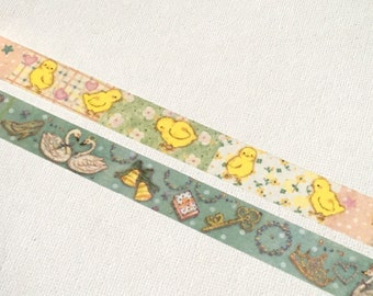 1 Roll of Japanese Washi Tape (Pick 1) Chick or Swan