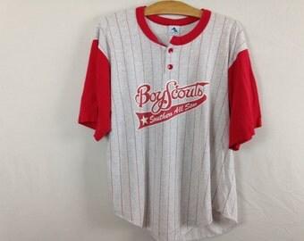 boyscout shirt size M
