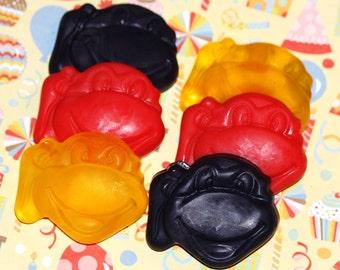 20 Mini Ninja Turtle Soaps / Ninja Turtle Party favors/ Kids soap