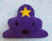 Lumpy Space Princess MINI PILLOW
