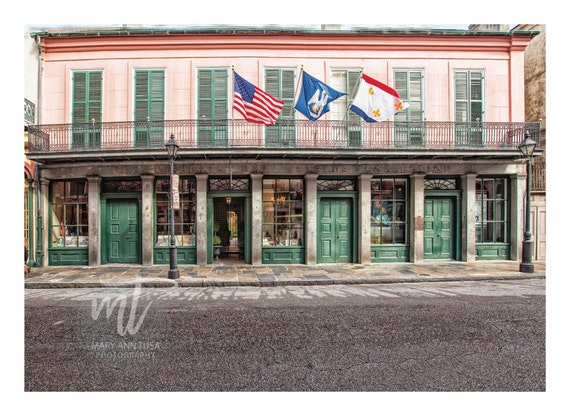 New Orleans Historical Collection Building, Historic French Quarter Architecture