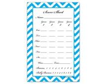 Guajolote Prints Bunko Score Sheets Tally Notepad Memo Dice Games Scoring Pad 4.25 X 6.50 Inches 50 Sheets