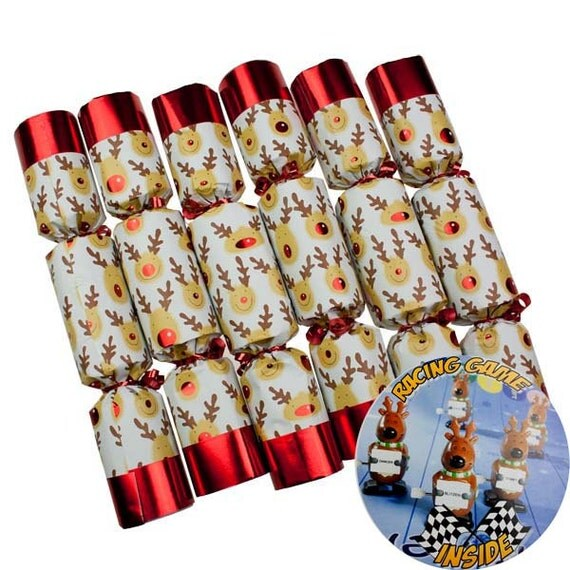 Reindeer Crackers Christmas Party Games Christmas