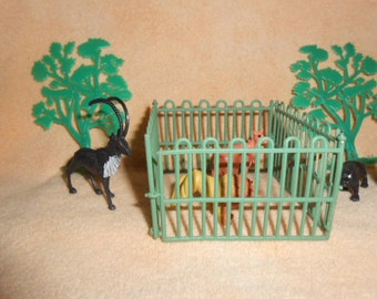 Zoo Animals Cake Toppers-Vintage