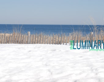 Rehoboth Beach Covered in Snow