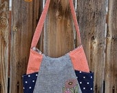 Hand Embroidered 241 Tote