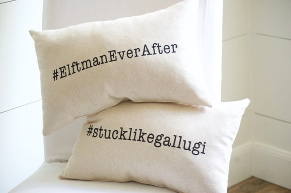 Unique Wedding Gifts For Second Marriage: Wedding Hashtag Pillow Wedding Gift Anniversary Gift