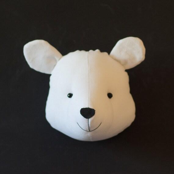 Fake bear head