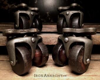 Antique Caster Wheels, Furniture Casters