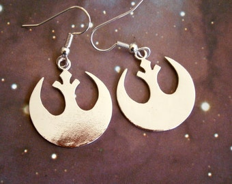 Sterling Silver Rebel Alliance earrings