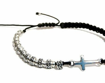 APOLLON men's beaded Bracelet-16008