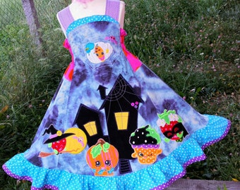 Custom Boutique Shopkins Halloween  dress
