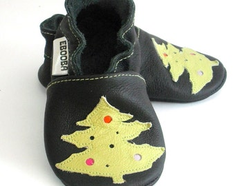 soft sole baby shoes infant kids children  fir-tree 18-24 m ebooba 82-4