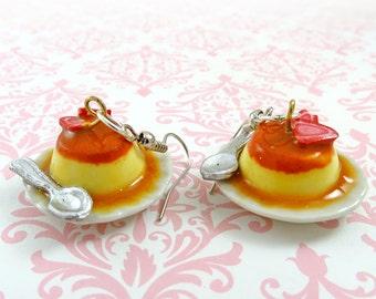 Cream Puff Earrings Kawaii Polymer Clay Charm Accessories