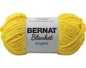Bernat Blanket Brights Yarn School Bus Yellow 150 Grams