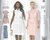 McCall's M6696 - UNCUT - Misses' Shirtdresses Sewing Pattern - Sizes 8, 10, 12, 14, 16
