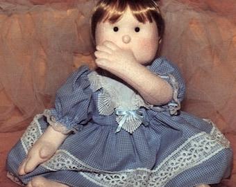 Soft Sculpture Doll: My Sweet Baby Download Digital PDF Pattern