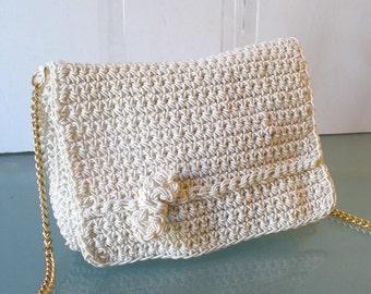 Made in Italy Walborg  Crochet  Shoulder Bag