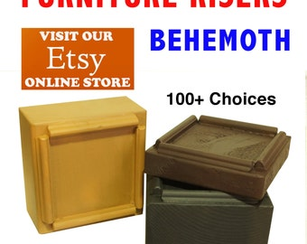 BEHEMOTH Furniture Risers, Bed Lifters