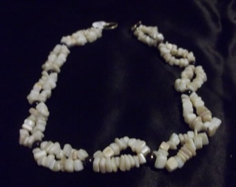Double strand Shell Necklace