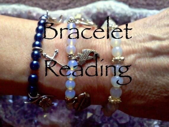 Psychic Reading, Healing Bracelet, Reading, Healing Jewelry, Spiritual Bracelet, Healing Crystal Bracelet, Zen Jewelry, Spiritual Jewelry