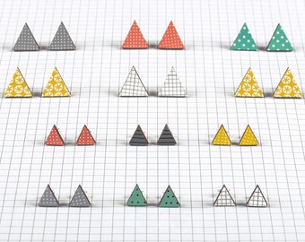 Triangle geometric studs -large