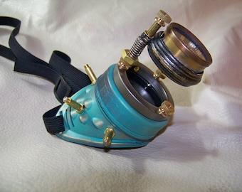 Steampunk Sky Pirate Navigator's Mono-goggle