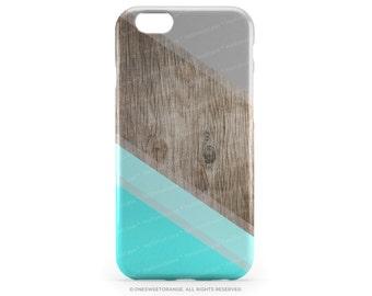 iPhone 6S Case Mint iPhone 6S Plus Case Wood Print iPhone 5s Case Chevron iPhone 6 Case Geometric iPhone 6 Case Teal iPhone 6S Case T173