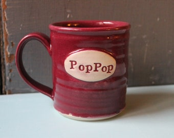 Custom Name Mug, Cranberry, personalized, present, gift, Christmas, Made To Order