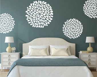 Poppy Wall Decal Bedroom Stickers, Bedroom Poppy Designs, Poppy Decals,  Removable Adornment Decals Part 95
