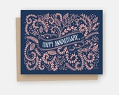 Anniversary Card - Happy Anniversary Card - Happy Anniversary - Congratulations - Celebrate Card - Celebration