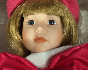 Porcelain Doll Dynasty Collection Dyann's Painting Lesson