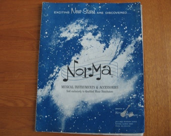 1965 Norma Musical Instruments & Accessories catalog