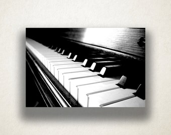 Artistic Piano Canvas Art, Piano Keys Wall Art, Instrument Canvas Print, Music Wall Art, Photograph, Canvas Print, Home Art, Wall Art Canvas